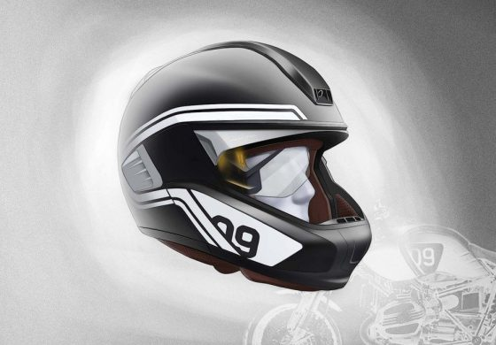 BMW Motorrad Concept Helmet with heads-up display