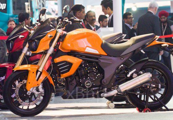 Mahindra Mojo Concepts and MGP 3O unveiled at Auto Expo