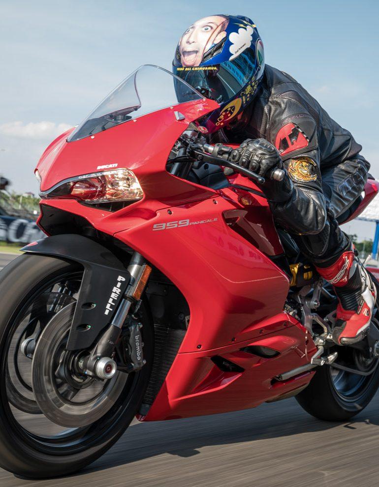 Ducati 959 Panigale Track Ride