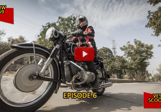 #100Motorcycles: Episode 6: BMW R69 and Vespa Scooters