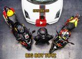 #100Motorcycles: Episode 16: Big Boy Toyz