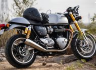 Triumph's delightful café-racer Thruxton 1200R Reviewed