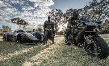 Batman vs Ninja: This guy built his own Batmobile and its road legal!