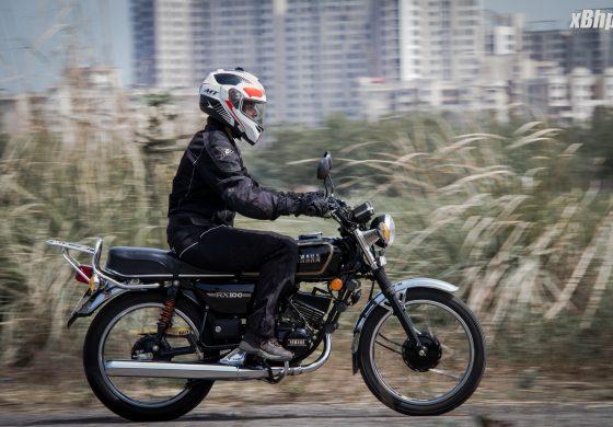 Bike 5: Yamaha RX100
