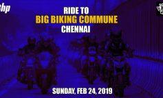 Chennai Ride to Big Biking Commune - Sunday Feb 24