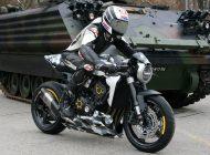 The winner of Honda Switzerland's custom CB1000R competition
