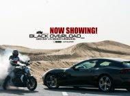 Ferrari #GTC4 Lusso and Ducati #xDiavel in Dubai | Driver Vs Rider