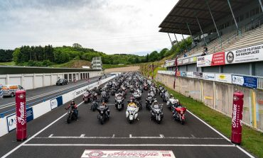 300+ Indian Motorcycles on a racetrack! First Official French IMRG Rally
