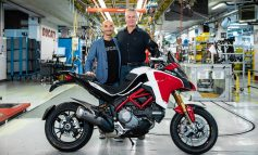 100,000th Multistrada and the annoucement of Ducati Multistrada V4!