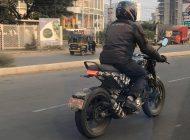 Is that a Husky? Husqvarna Vitpilen 401 spied in Pune!