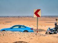 BMW M4 and BMW S1000RR: A Bavarian brawl in Dubai