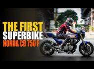 WATCH: The First Superbike: Honda CB 750