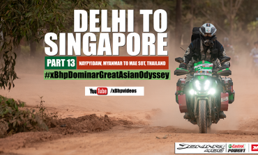 India to Singapore :: Episode 13:: On Bajaj Dominar!