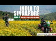 India to Singapore :: Episode 12:: On Bajaj Dominar!