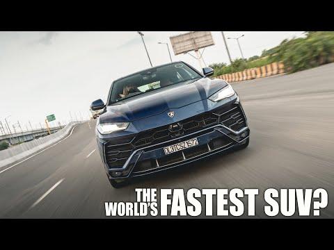 WATCH: World's Fastest SUV? The Laborghini Urus driven in India
