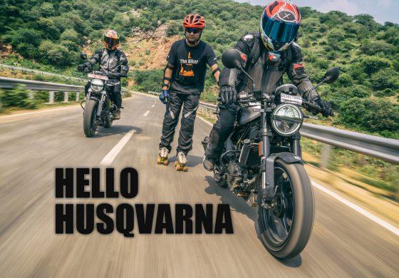 Hello Husqvarna!