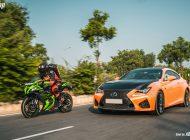 xBhp-InitialD starring Lexus RC F and Kawasaki Ninja ZX-10R