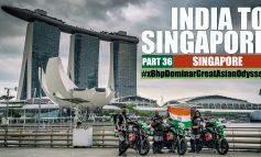 India to Singapore :: Episode 36:: Singapore:: On Bajaj Dominar!