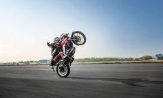 Bajaj Pulsar NS160 & the world record for the longest no-hands wheelie!