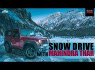Snow Drive with Mahindra Thar