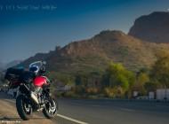 xBhp rides Suzuki V-Strom 1000 from Sand to Snow