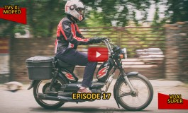 #100Motorcycles: Episode 17: TVS Moped & Lambretta/Vijai Super
