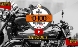 #100 Motorcycles: Episode 2:  Yamaha RX100 and Triumph Rocket III